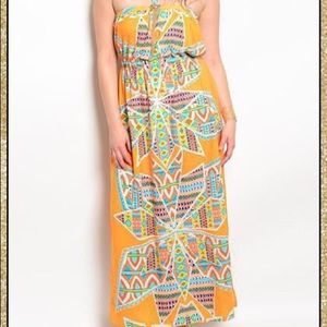 Dresses & Skirts - 'Colors Of The Wind' Maxi Dress (CURVY)